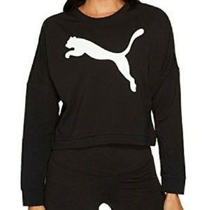 Puma Croptop black workout sweater